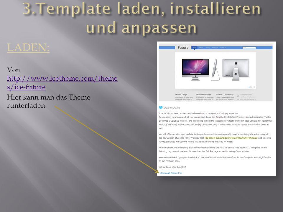 LADEN: Von http://www.icetheme.com/theme s/ice-future http://www.icetheme.com/theme s/ice-future Hier kann man das Theme runterladen.
