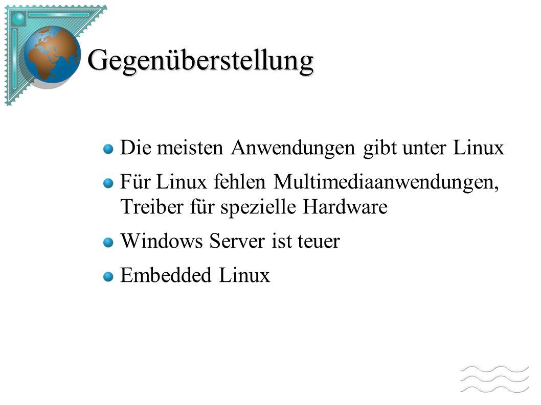 Windows und Linux gleichzeitig Hardwarelösungen: mehrere (vernetzte) Rechner Wechselplatte 2.