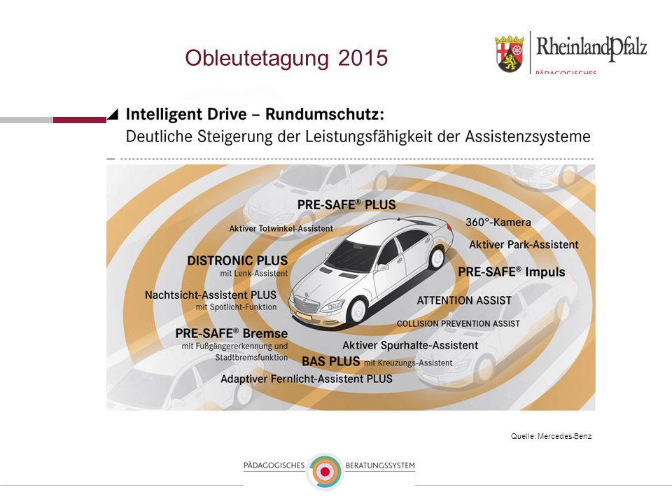 Obleutetagung 2015 Quelle: Mercedes-Benz