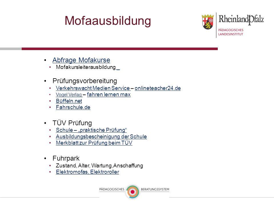Mofaausbildung Abfrage Mofakurse Mofakursleiterausbildung _ _ Prüfungsvorbereitung Verkehrswacht Medien Service – onlineteacher24.deVerkehrswacht Medi