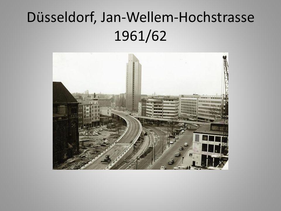 Düsseldorf, Jan-Wellem-Hochstrasse 1961/62