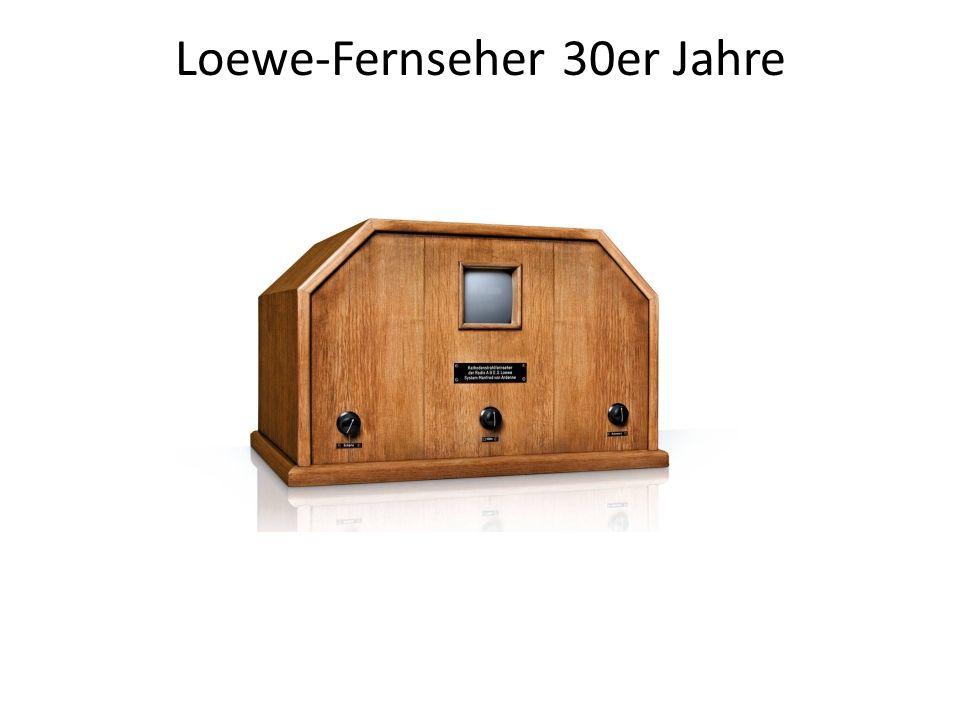 Loewe-Fernseher 30er Jahre