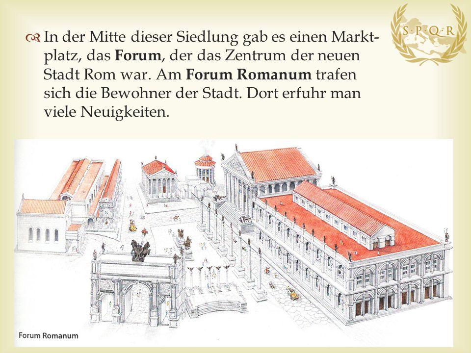  Von der Königsherrschaft zur Republik  Zu Beginn herrschten in Rom etruskische Könige.