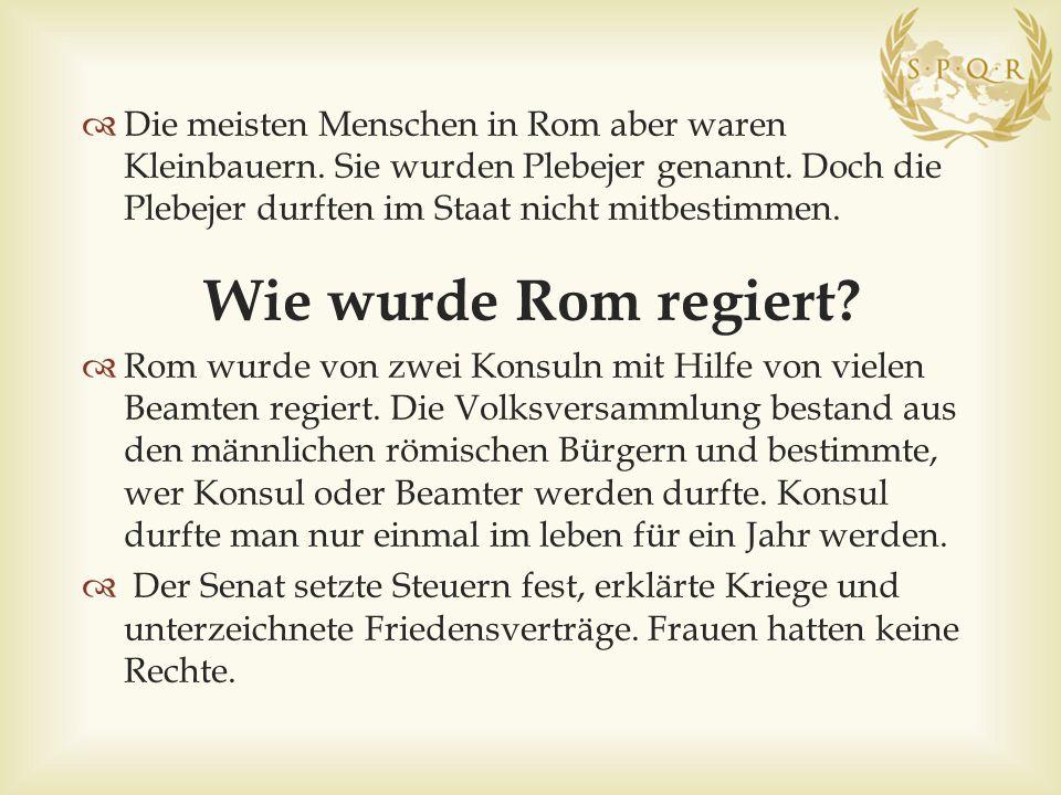 Senat2 Konsuln männliche römische Bürger