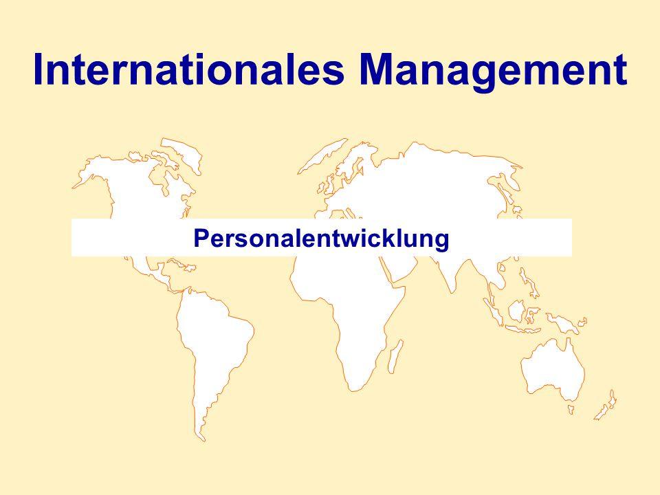 Übersicht 1.Personalentwicklung als Investition 2.