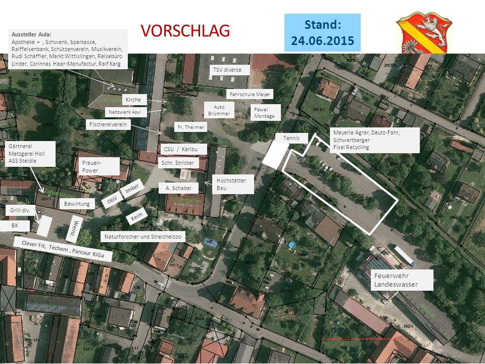 Feuerwehr Landeswasser Gärtnerei Metzgerei Holl ASS Steidle Frauen- Power Bewirtung Grill div.