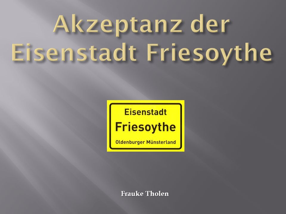 Frauke Tholen
