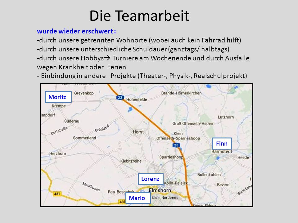 Bester Teamstand Junior 2014 -Thunderstorm Racing Team - Leibniz Privatschule Elmshorn