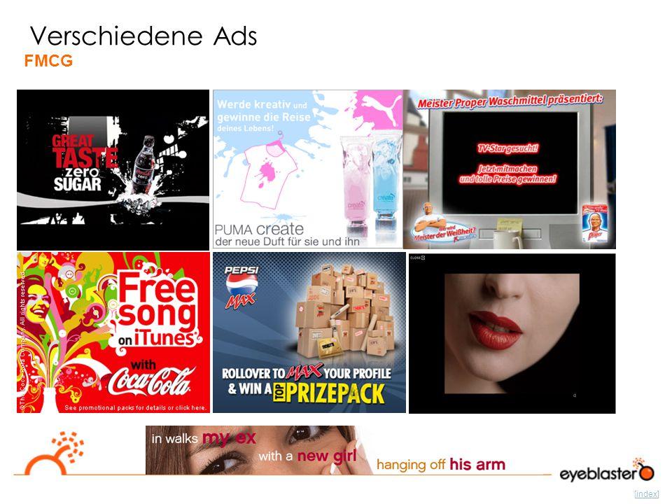 [index] Verschiedene Ads FMCG