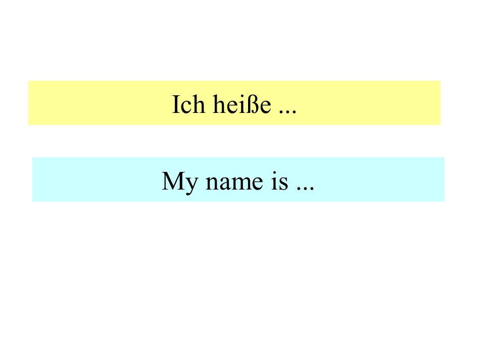 Grüß dich! Hi! Hello!