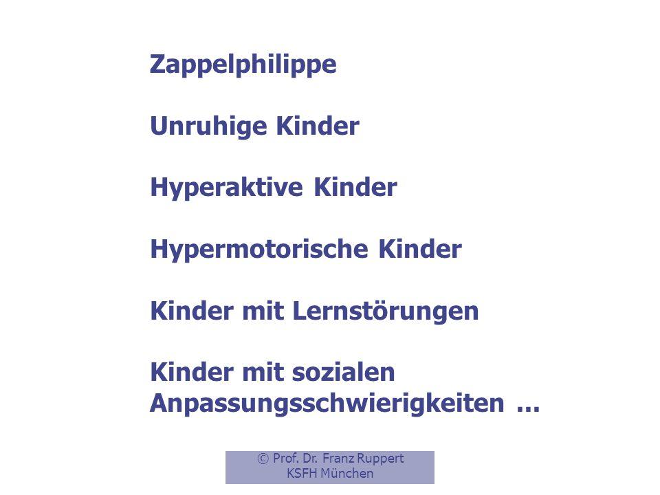 Aufmerksamkeitsdefizit-/ Hyperaktivitätsstörung (ADHS/ADS) (DSM IV, 314.00) Attention Deficit Disorder (ADD) Hyperkinetisches Syndrom (ICD 10, F 90)
