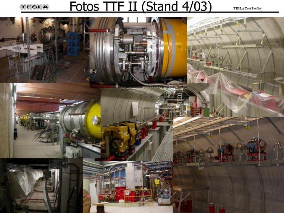 TESLA Test Facility Fotos TTF II (Stand 4/03)