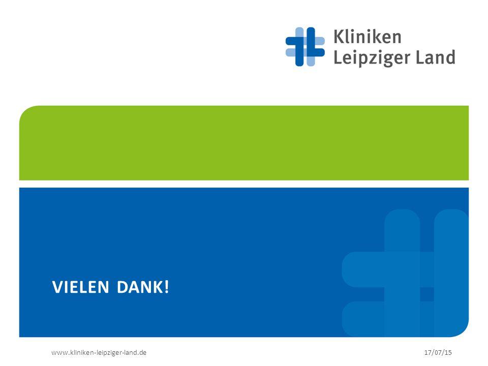www.kliniken-leipziger-land.de17/07/15 VIELEN DANK!