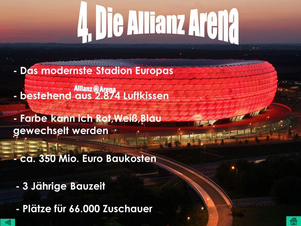 - Das modernste Stadion Europas - bestehend aus 2.874 Luftkissen - Farbe kann ich Rot,Weiß,Blau gewechselt werden - ca.
