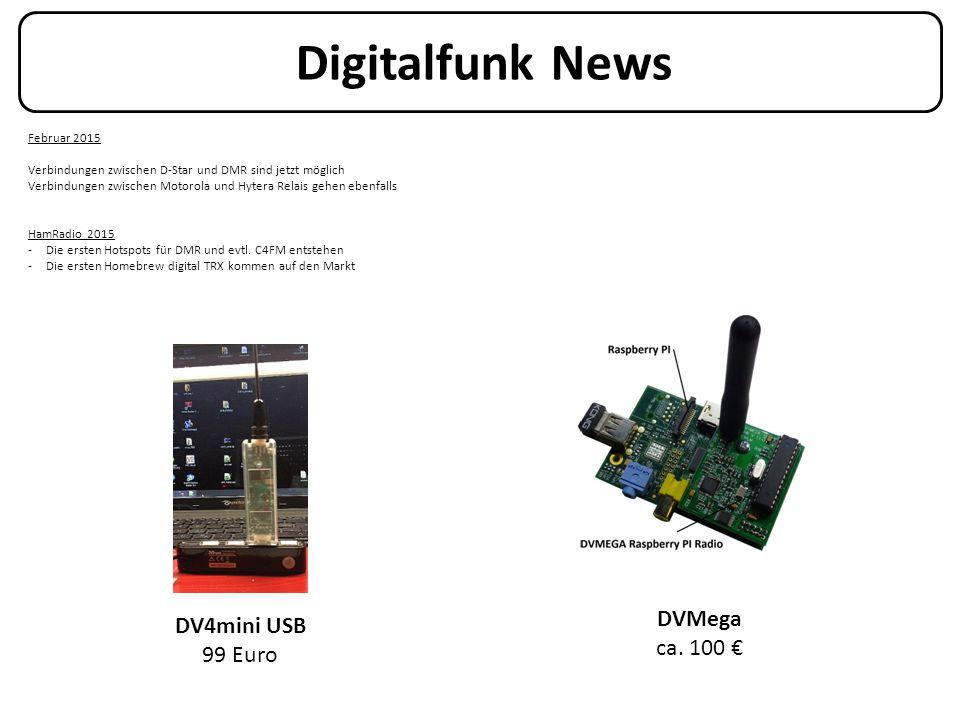 Digitalfunk News Februar 2015 Verbindungen zwischen D-Star und DMR sind jetzt möglich Verbindungen zwischen Motorola und Hytera Relais gehen ebenfalls