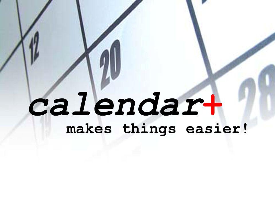 calendar+ makes things easier! PHP-Scripts