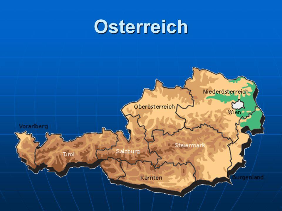 1.Osterreich ist ein Staat im sudlichen Mitteleuropa.