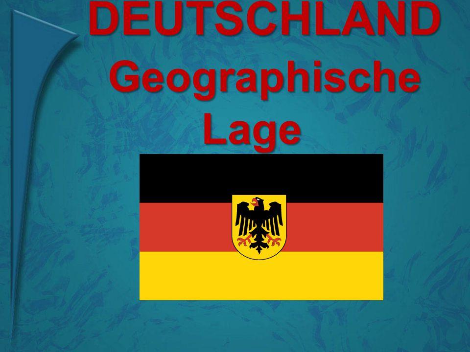 Die Grenzen Deutschland grenzt im Norden an Dänemark, im Osten an Polen und die Tschechische Republik, im S üden an Ӧ sterreich und die Schweiz und im Westen an Frankreich, Luxemburg, Belgien und die Niderlande.