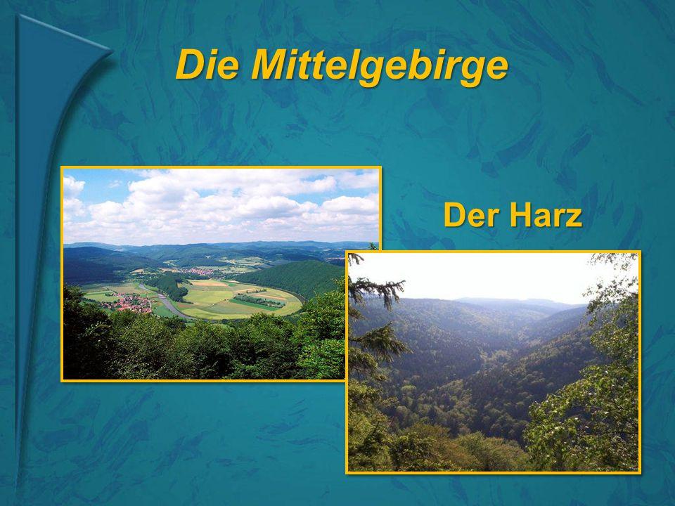 Die Mittelgebirge Der Harz