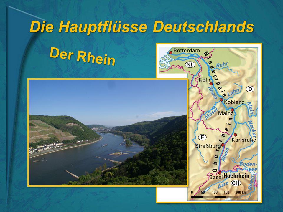 Die Hauptflüsse Deutschlands Der Rhein