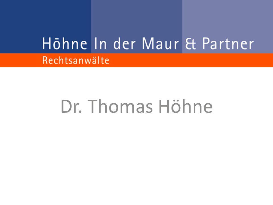 Dr. Thomas Höhne