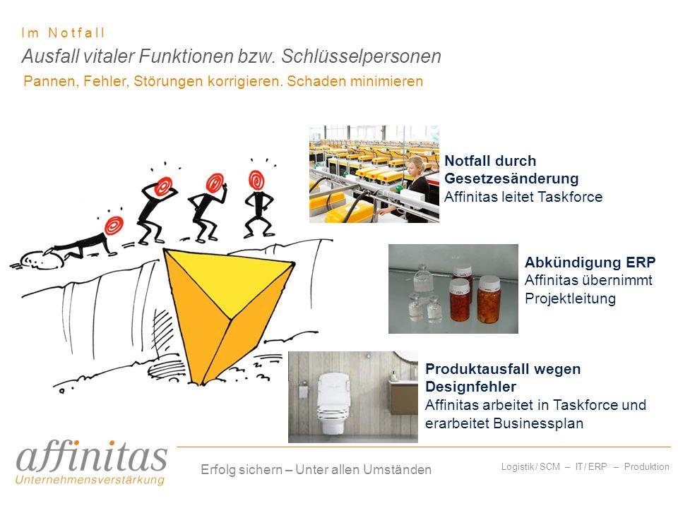 Logistik / SCM – IT / ERP – Produktion Am Scheideweg Ressourcen für objektive Analyse.