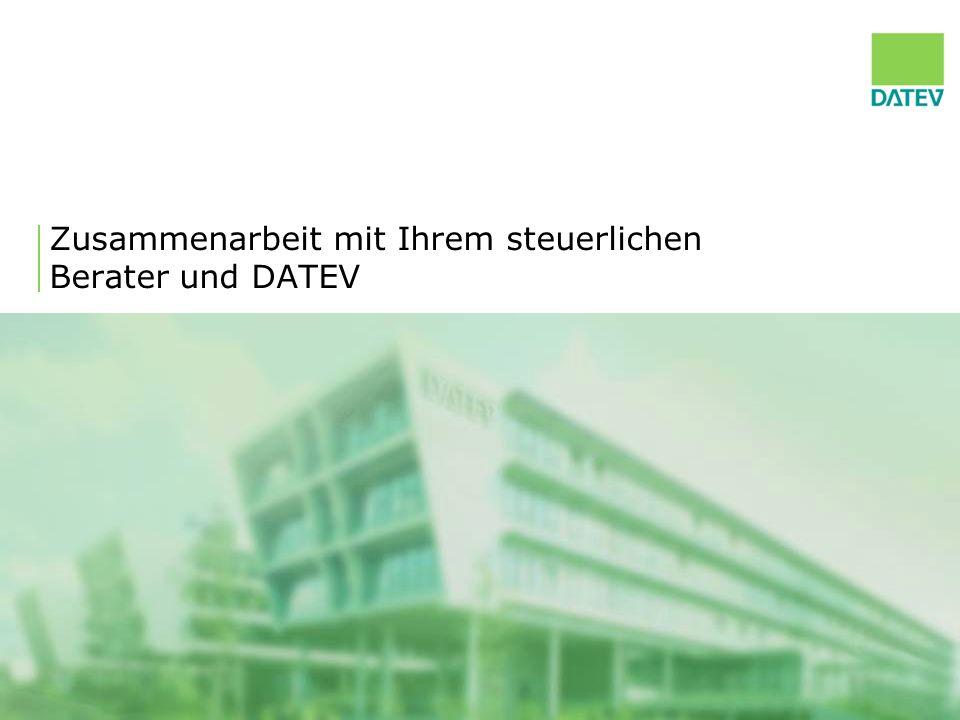 2 DATEV – das Unternehmen 26 mal vor Ort: DATEV-Niederlassungen bieten bundesweit Beratung und Schulung führender Anbieter von Software und Services für Finanzbuchführung sowie Lohn- und Gehaltsabrechnung in Europa Softwarehaus und IT-Dienstleister für Steuerberater, Wirtschaftsprüfer und Rechtsanwälte sowie deren Mandanten über 40 Jahre Erfahrung mit Software und Services Die Finanzbuchführung von 2,5 Millionen Unternehmen in Deutschland wird mit DATEV- Software geführt.