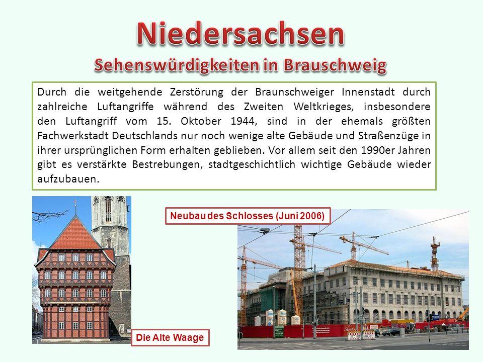 Durch die weitgehende Zerstörung der Braunschweiger Innenstadt durch zahlreiche Luftangriffe während des Zweiten Weltkrieges, insbesondere den Luftangriff vom 15.