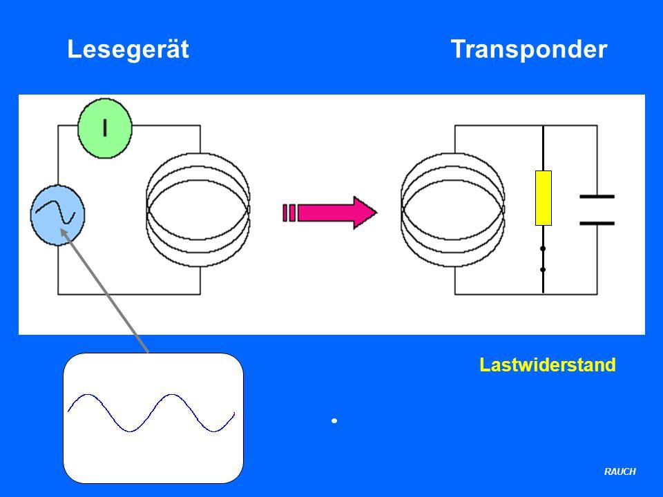 RAUCH LesegerätTransponder Lastwiderstand