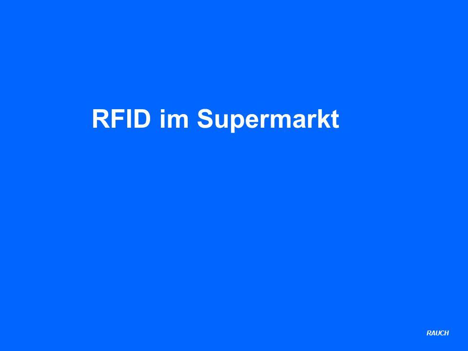 RAUCH RFID im Supermarkt