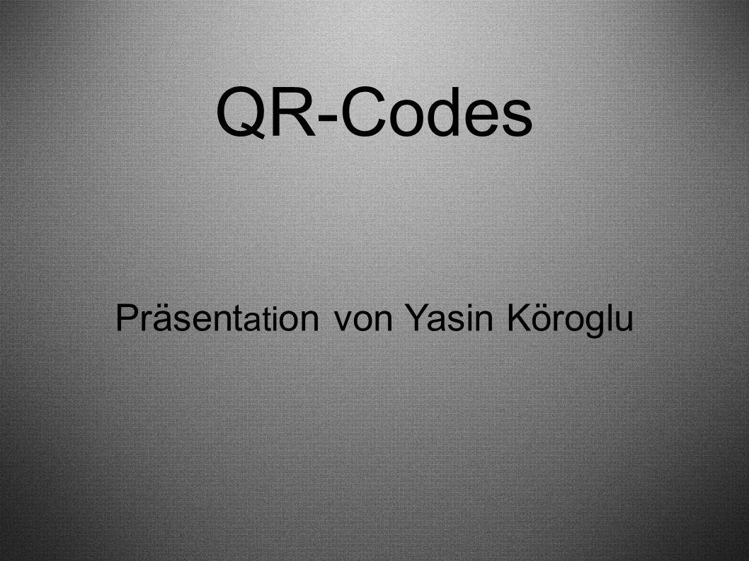 QR-Codes Präsent ati on von Yasin Köroglu
