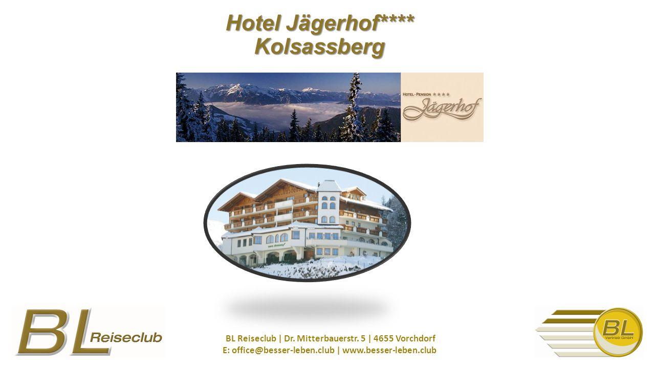 Hotel Jägerhof**** Kolsassberg BL Reiseclub | Dr. Mitterbauerstr.