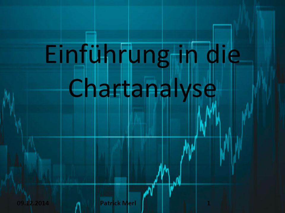 Einführung in die Chartanalyse 09.12.2014Patrick Merl1