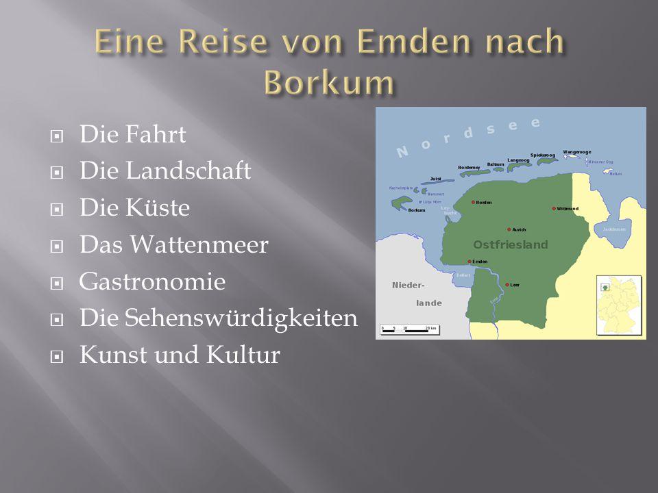  Von Emden nach Borkum