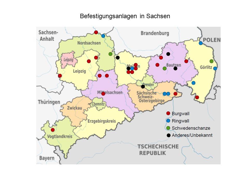 Befestigungsanlagen in Sachsen