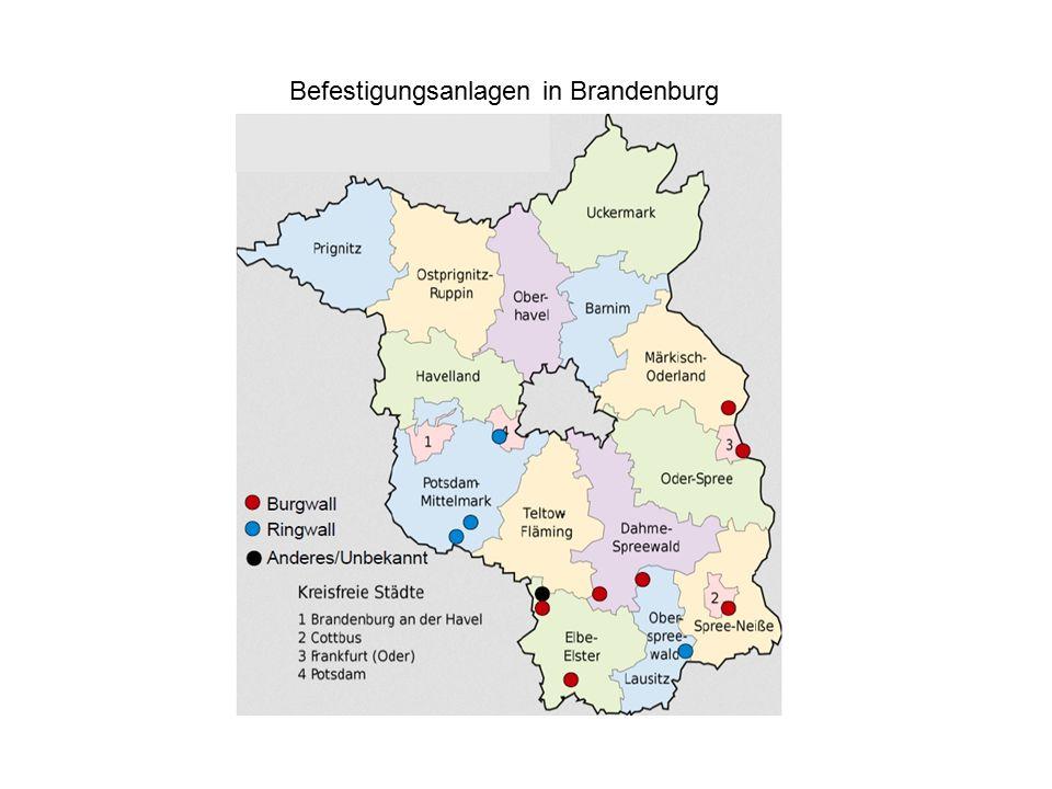 Befestigungsanlagen in Brandenburg