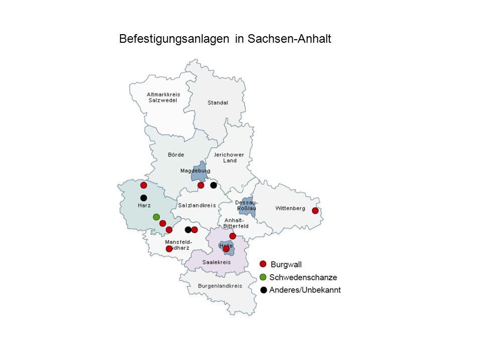 Befestigungsanlagen in Sachsen-Anhalt
