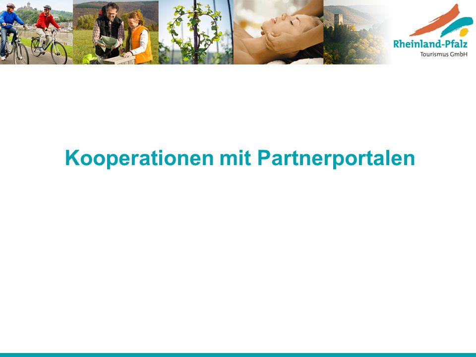 Kooperationen mit Partnerportalen