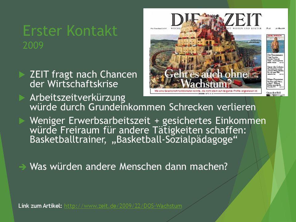 """Wissenschaftliche Arbeit 2013 - 2014 """"Das Bedingungslose Grundeinkommen."""