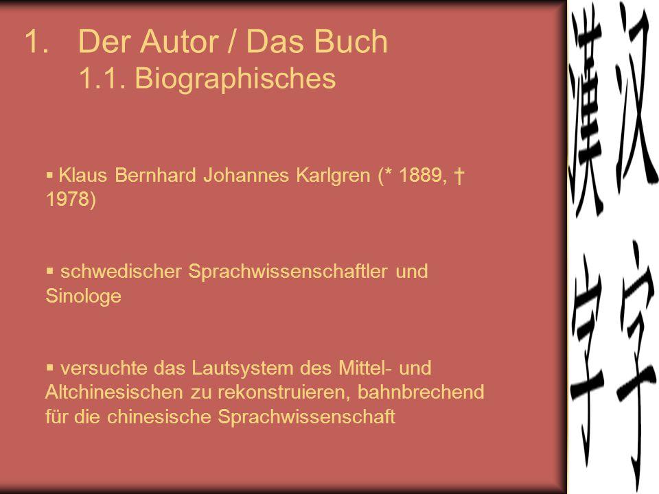 1.Der Autor / Das Buch 1.2.