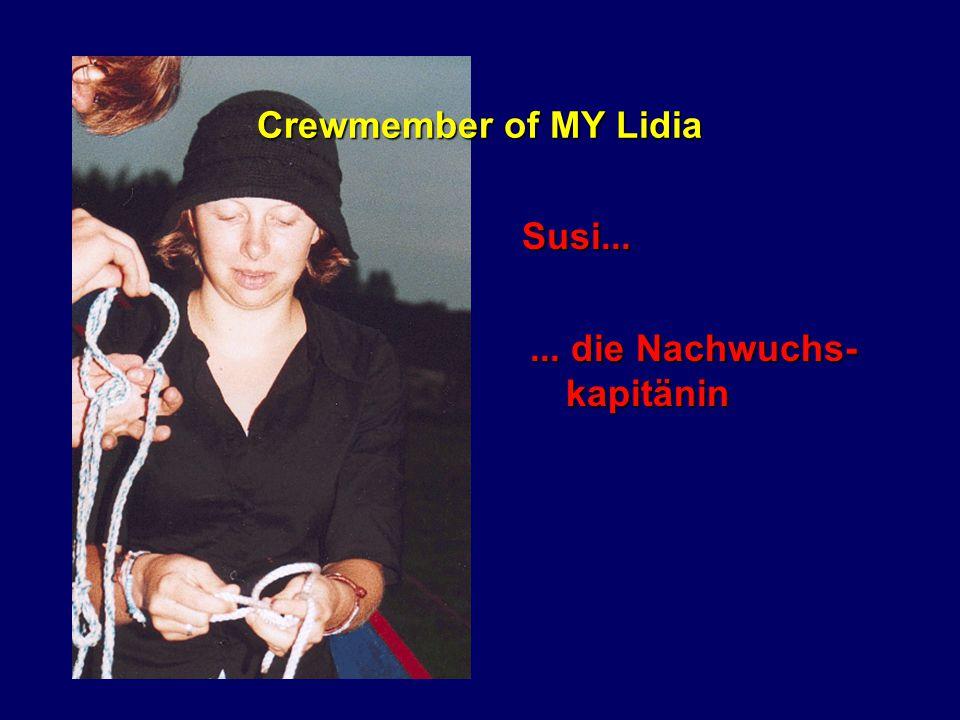 Crewmember of MY Yeni Prinz Jägermeister...... Da Sascha halt!