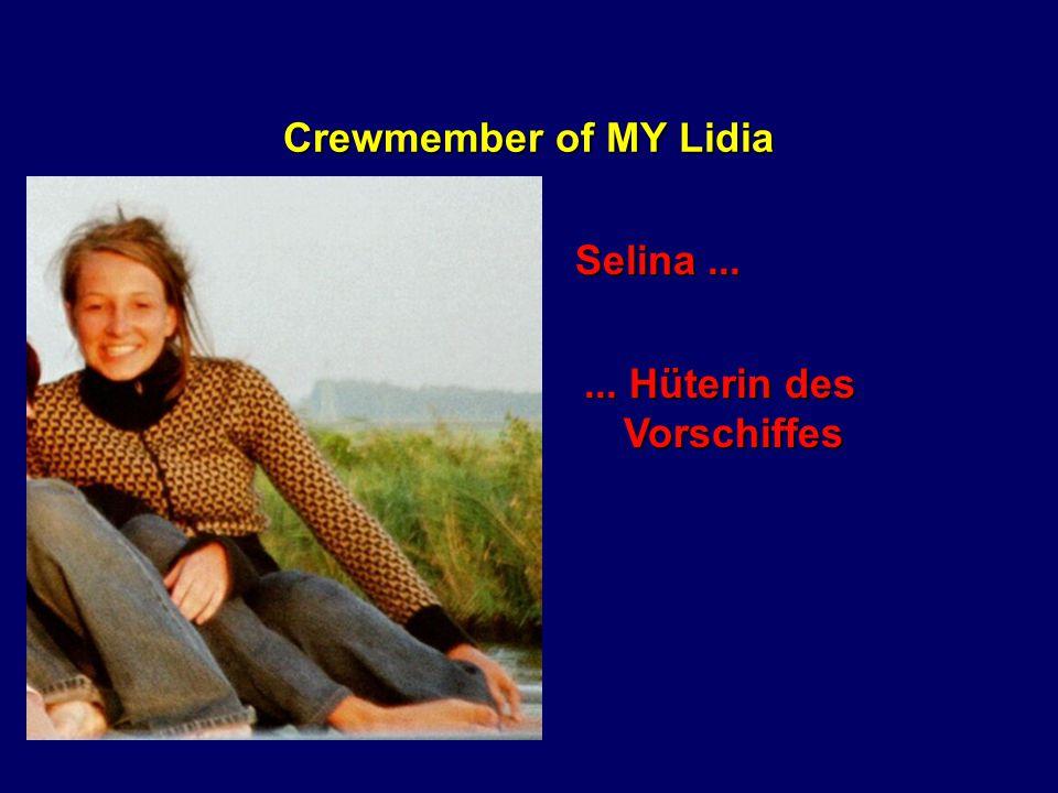 Crewmember of MY Lidia Vroni...... unsere Zwergenfee mit der roten Nase