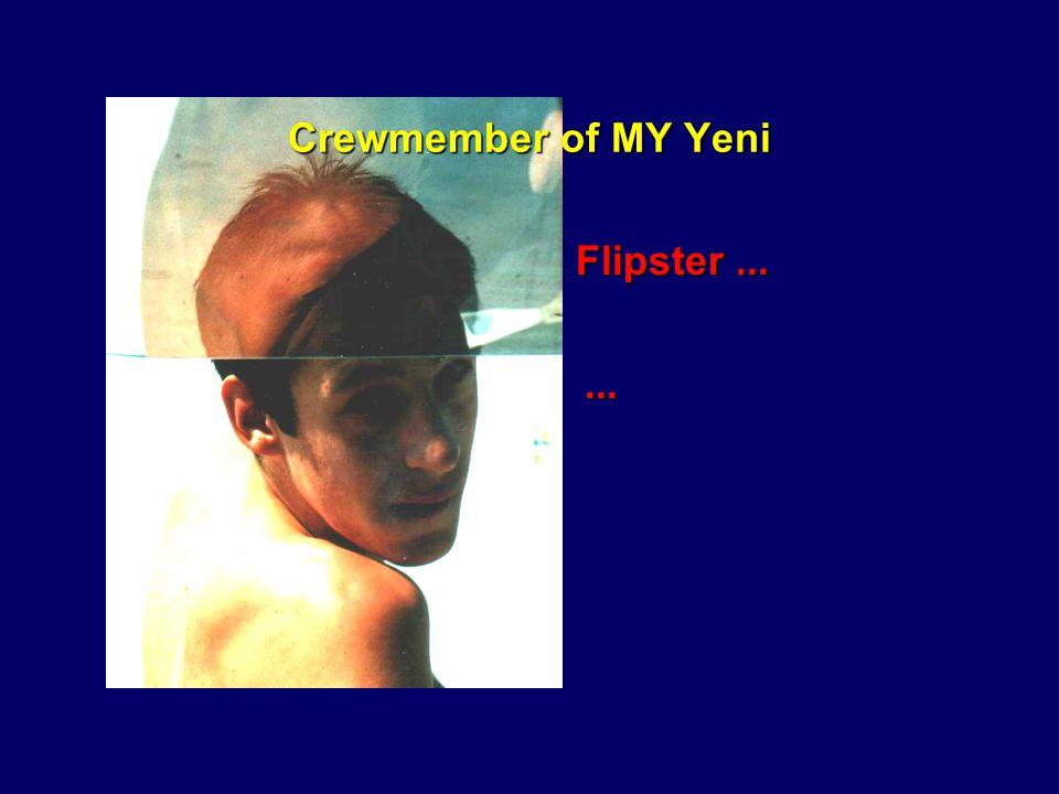 Crewmember of MY Yeni Thorsten......der zwar die beste Luft zum schlafen - dazu aber die wenigste Zeit hatte.