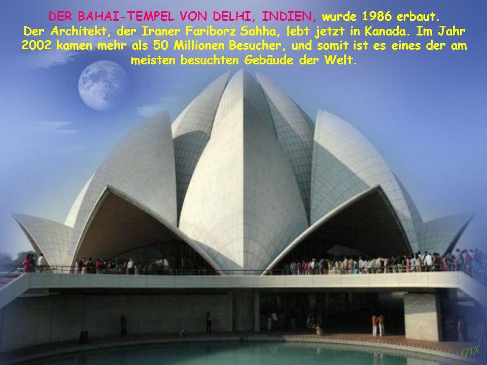 DER TURM VON MONTRÉAL Für die Olympischen Sommerspiele im Jahr 1976 erbaut beherrscht das Stadion den Olympischen Park und war der kühne Entwurf des f