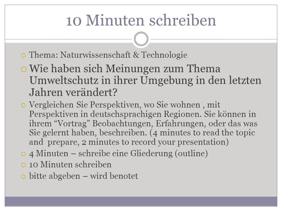 Vokablen & Themen 13.
