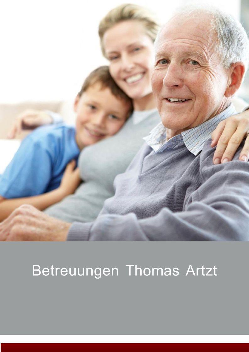 Betreuungen Thomas Artzt