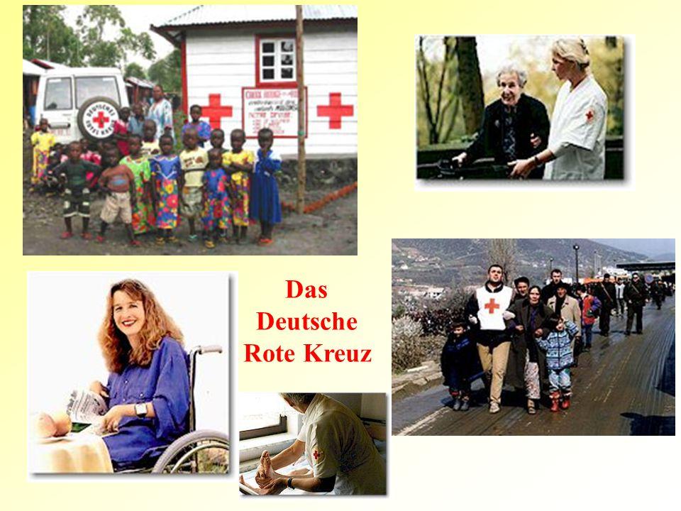 Das Deutsche Rote Kreuz
