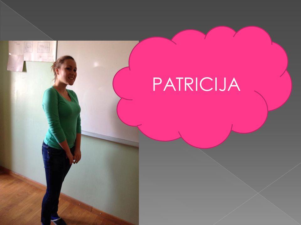  Ich heiße Patricija  Ich bin 17 Jahre alt  Im Horoskop bin ich Krebs  Ich wohne in Kroatien  Meine Hobbys sind Badminton und Handball  Mein Lieblingsessen ist Pizza  Meni Lieblingsgetränk ist Coca-cola  Ich mag Erlichkeit  Ich mag nicht Bücher