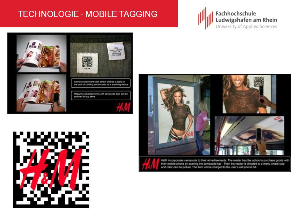 TECHNOLOGIE - MOBILE TAGGING