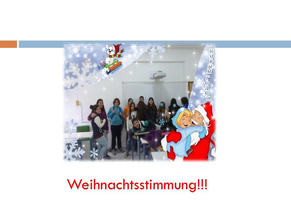 Weihnachtsstimmung!!!